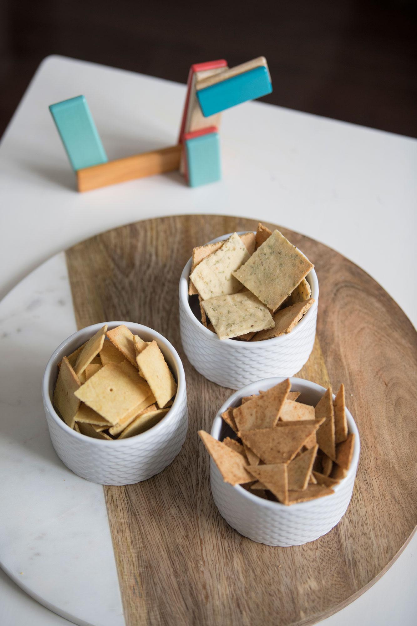 Healthy Paleo Keto Crackers Children