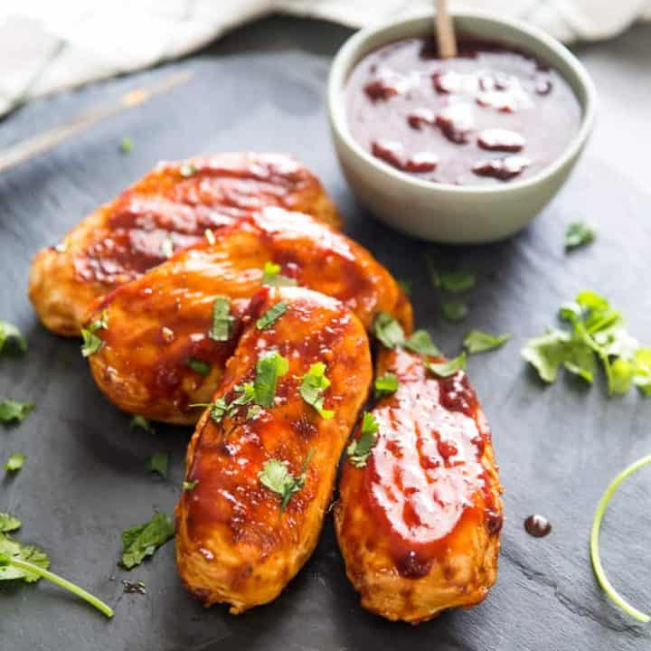 Grilled chicken bbq chicken