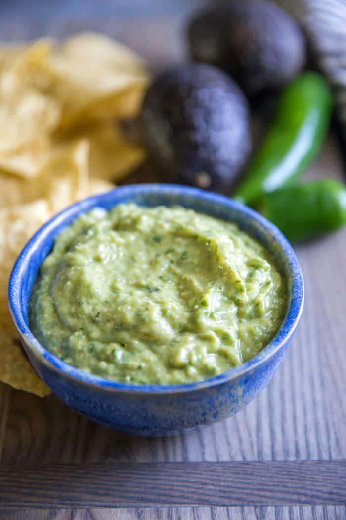 green salsa plain