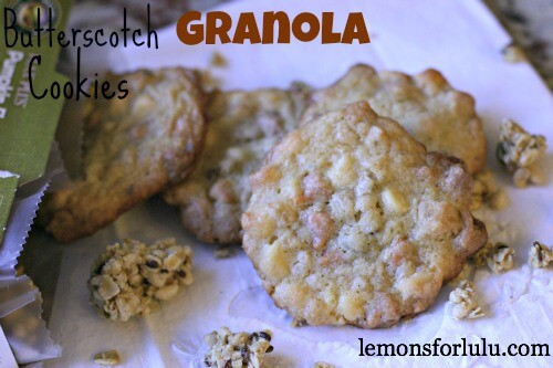 Crispy on the edges and soft in the middle! These cookies are buttery and packed full of two kinds of chips! Granola adds an unexpected crunch!