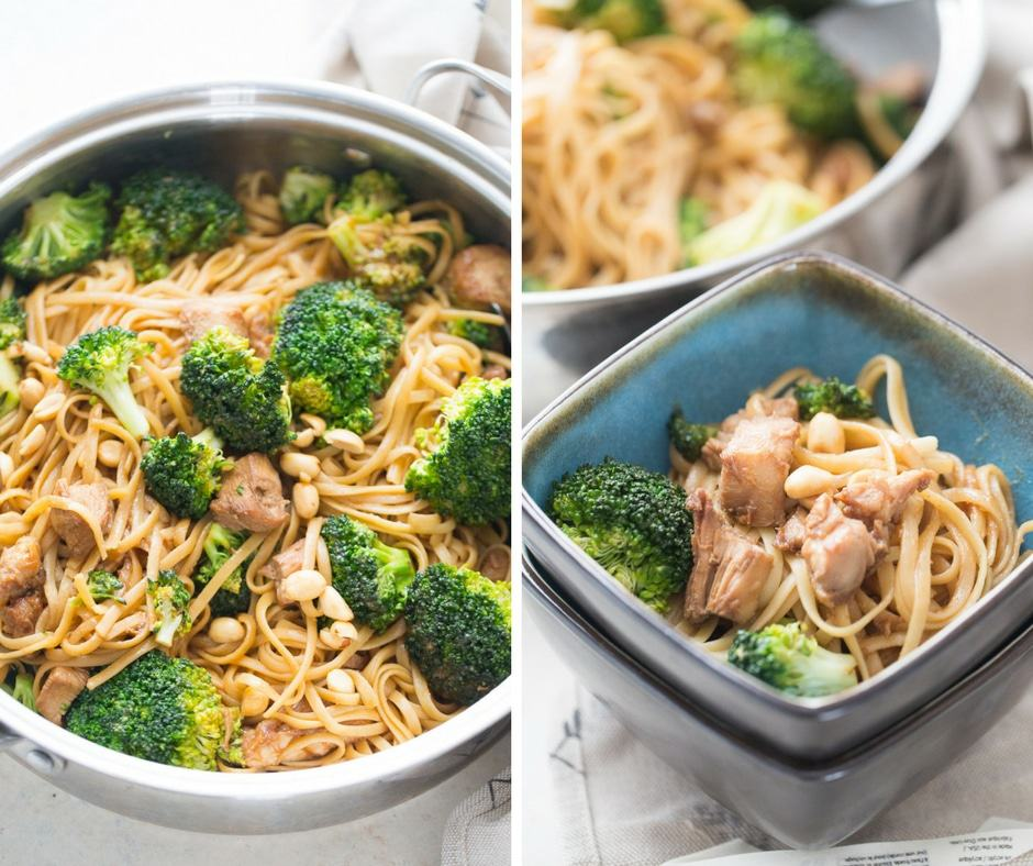 This chicken and broccoli stir will make you get rid of those take out menus!