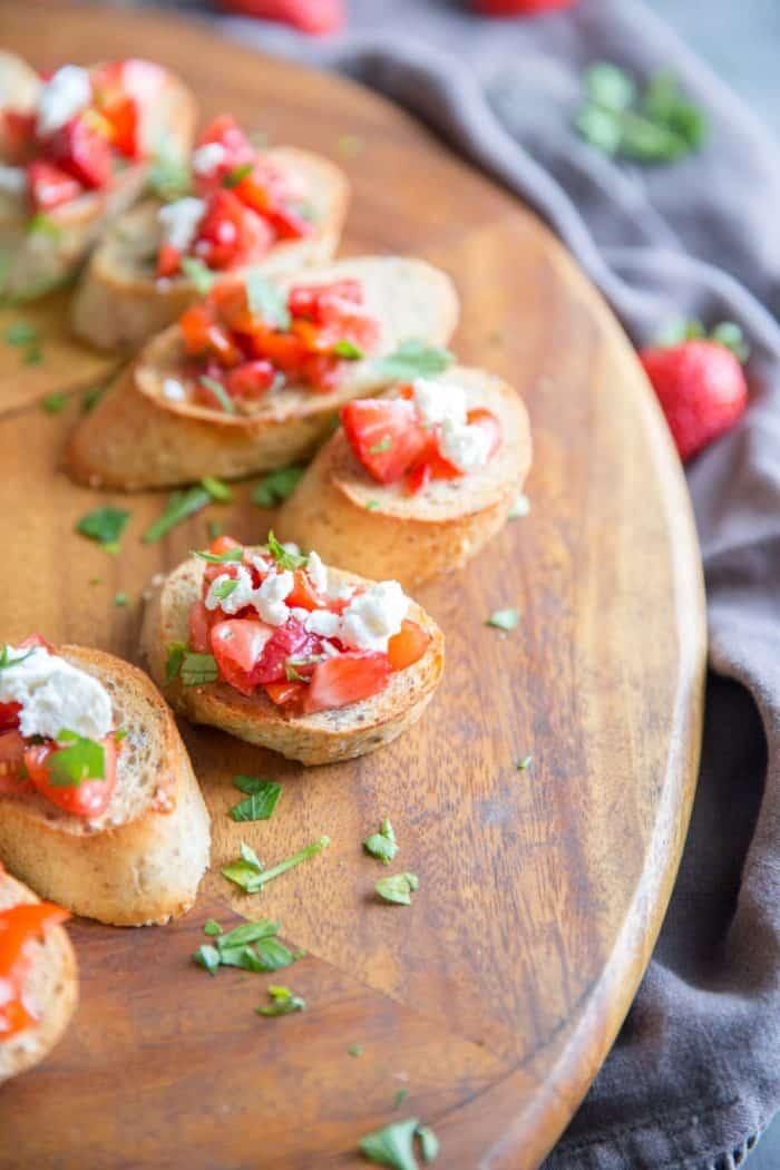 bruschetta recipe french bread