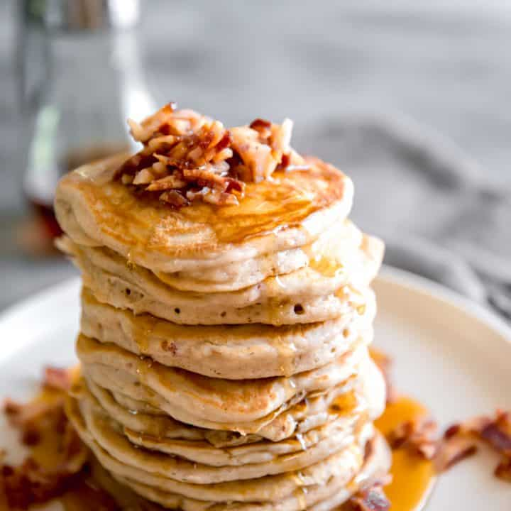 easy pancakes stack