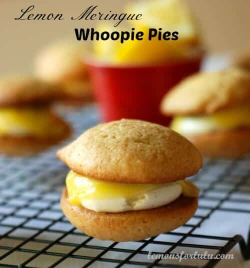 Lemon Meringue Whoopie Pies