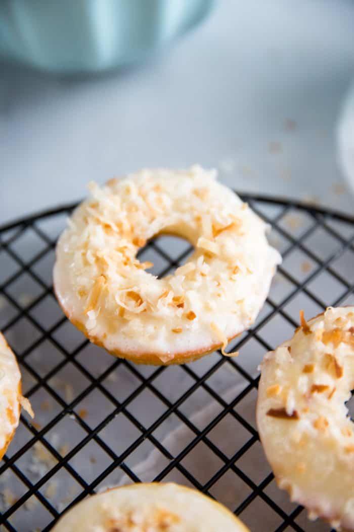 single baked donut recipe