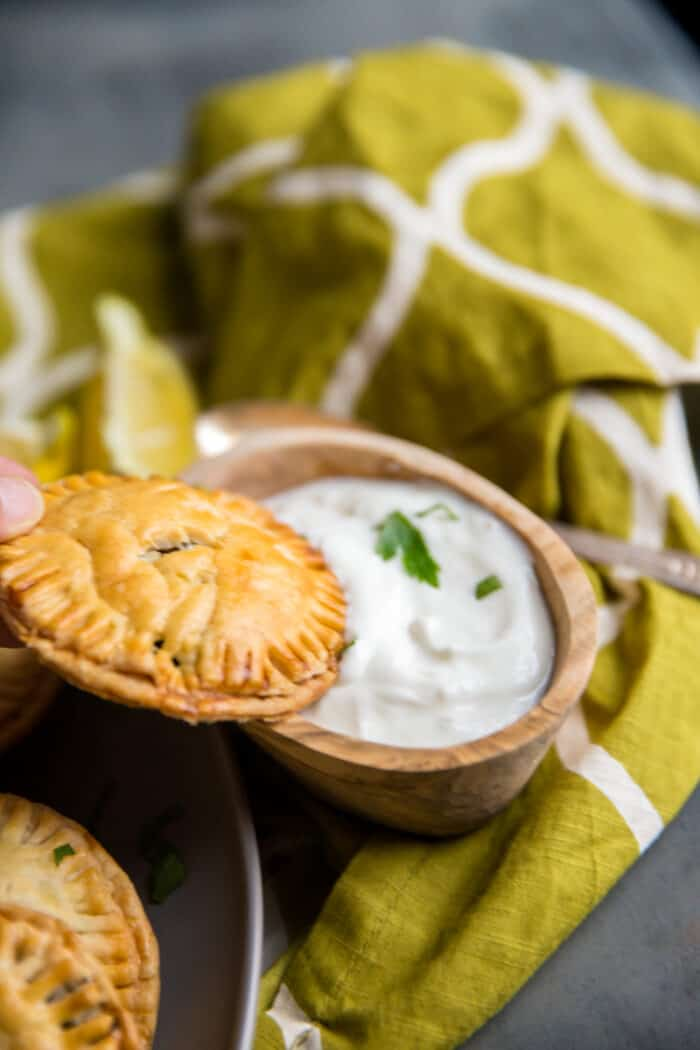 Greek hand pies with
