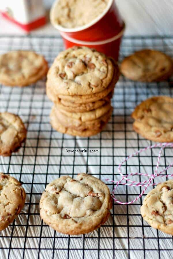 Soft and chewy brown sugar cookies with lots of cinnamon flavor! www.lemonsforlulu.com