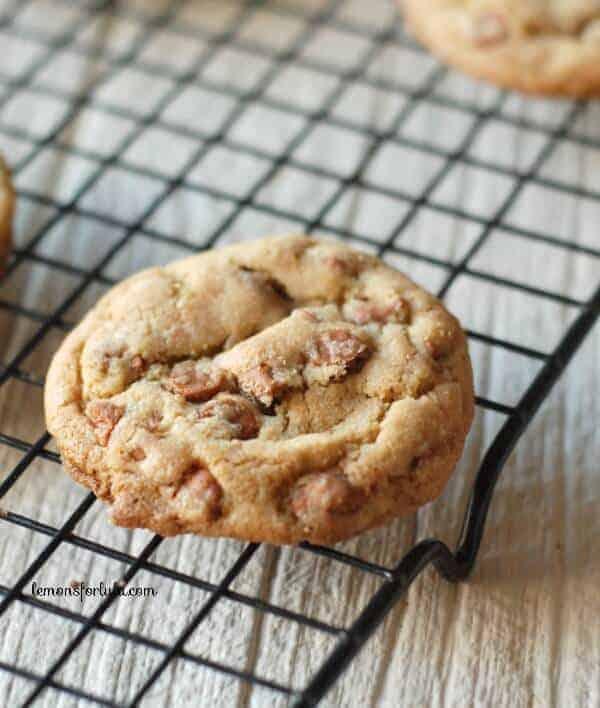 Soft brown sugar cookies with lots of cinnamon! www.lemonsforlulu.com