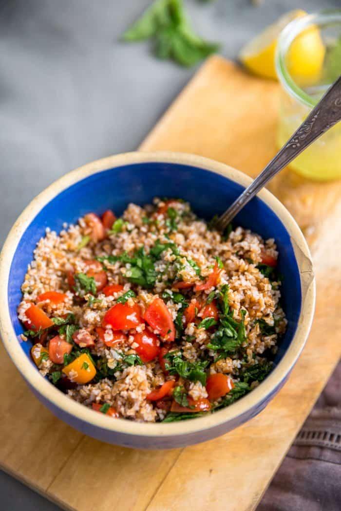Tabbouleh recipe combined