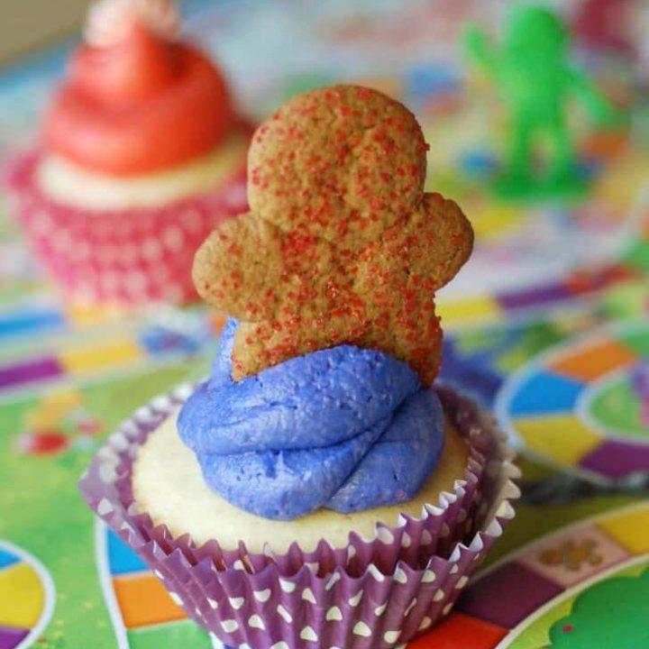 Cupcakes inspired by the favorite childhood game! www.lemonsforlulu.com