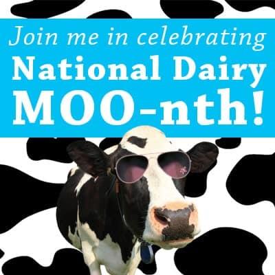 National Dairy Month Banner | Lemons for Lulu