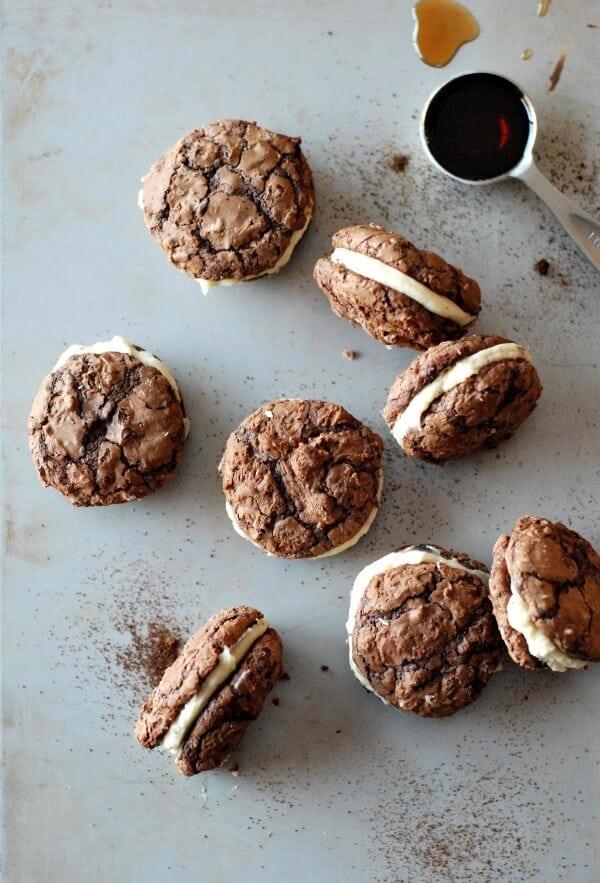 Tiramisu Sandwich Cookies Pic 1