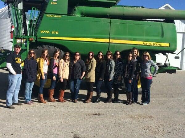Combine Iowa Corn