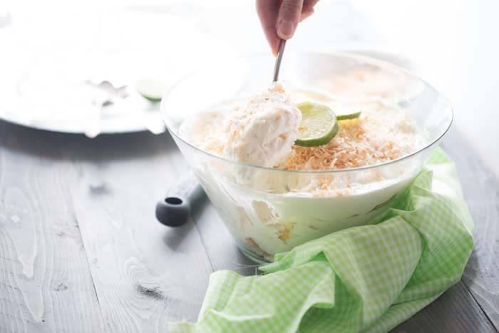 This trifle recipe is so simple and delicious , you'll get requests to bring it where ever you go. Angel food cake, toasted coconut, and key lime is truly a winning combination! lemonsforlulu.com