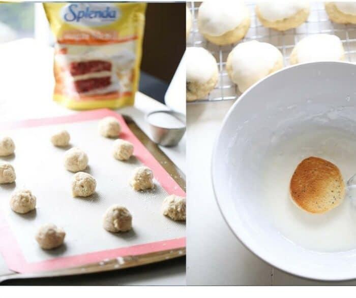 Easy lemon poppy seed sugar cookie recipe. lemonsforlulu.com