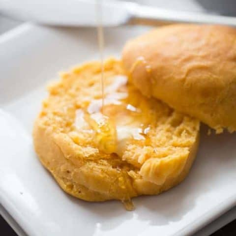 Get em while they are hot! There's nothing better than a hot sweet potato biscuit fresh from the oven! lemonsforlulu.com