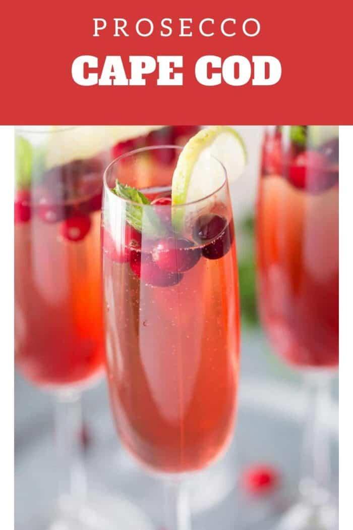 Cape Cod and Cranberry juice