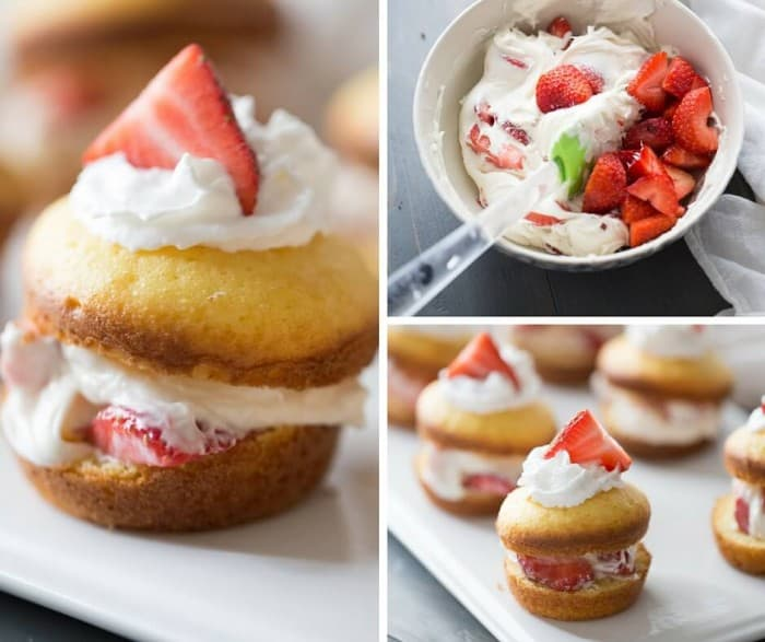 Pantry staples makes this dessert come together simply and beautifully! This strawbery shortcake recipe is a simple yet elegant dessert that will make dessert the star of the meal!