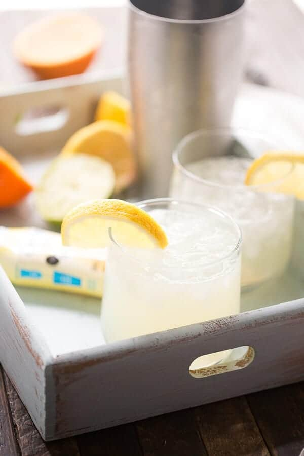 Want to be refreshed? Try this tart and sweet lemon lime virgin margarita!