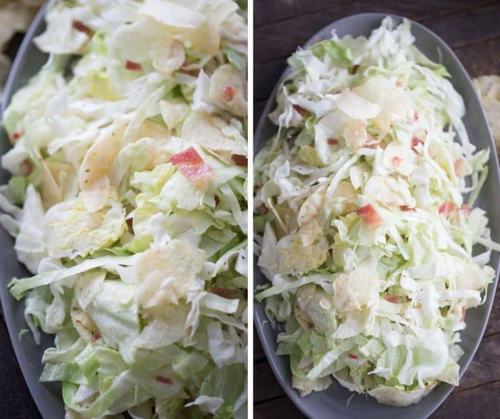This quick and easy coleslaw recipe will be the hit of your bbq!