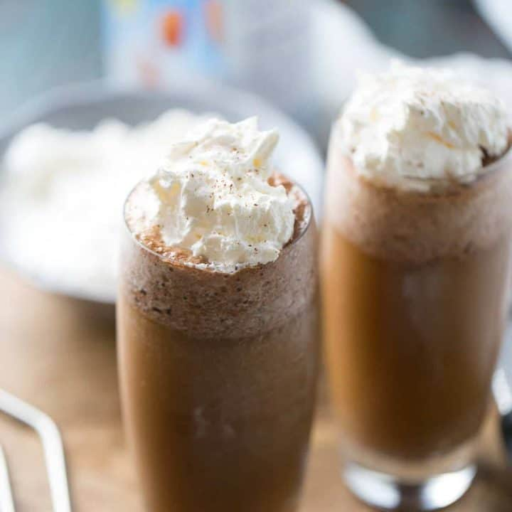 Thai Iced Coffee Frappe