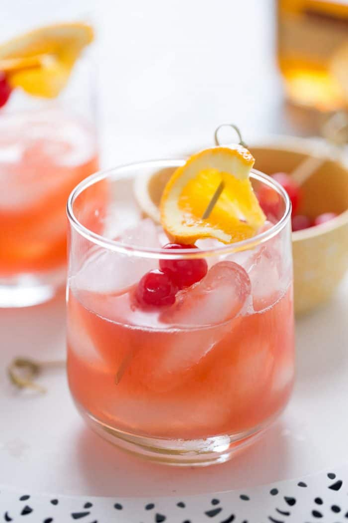 Love bourbon? I have a new drink for you; this bourbon Daisy! It is sweet, subtle and a unique way to enjoy bourbon.