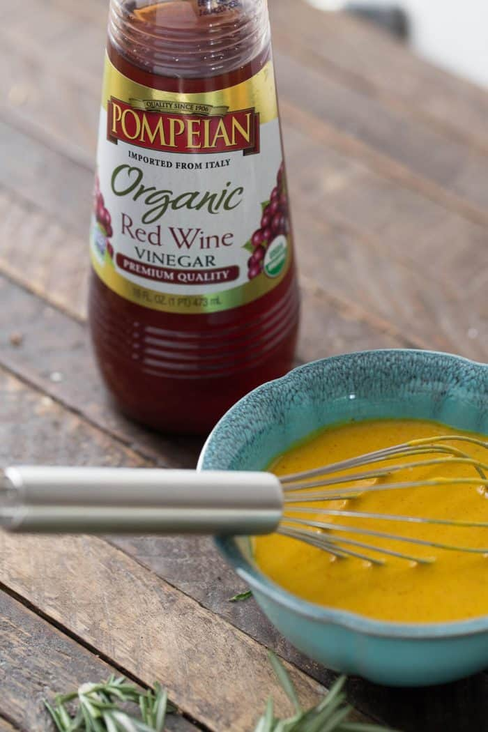 Carolina style mustard sauce; perfect for dipping wings!