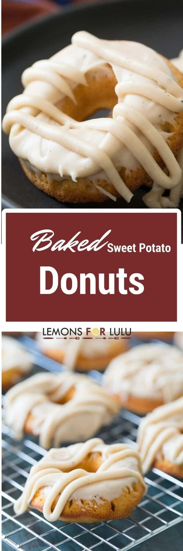 These simple sweet potato donuts are a great way to embrace fall! The browned butter frosting is creamy and sweet, you could eat it on its own!
