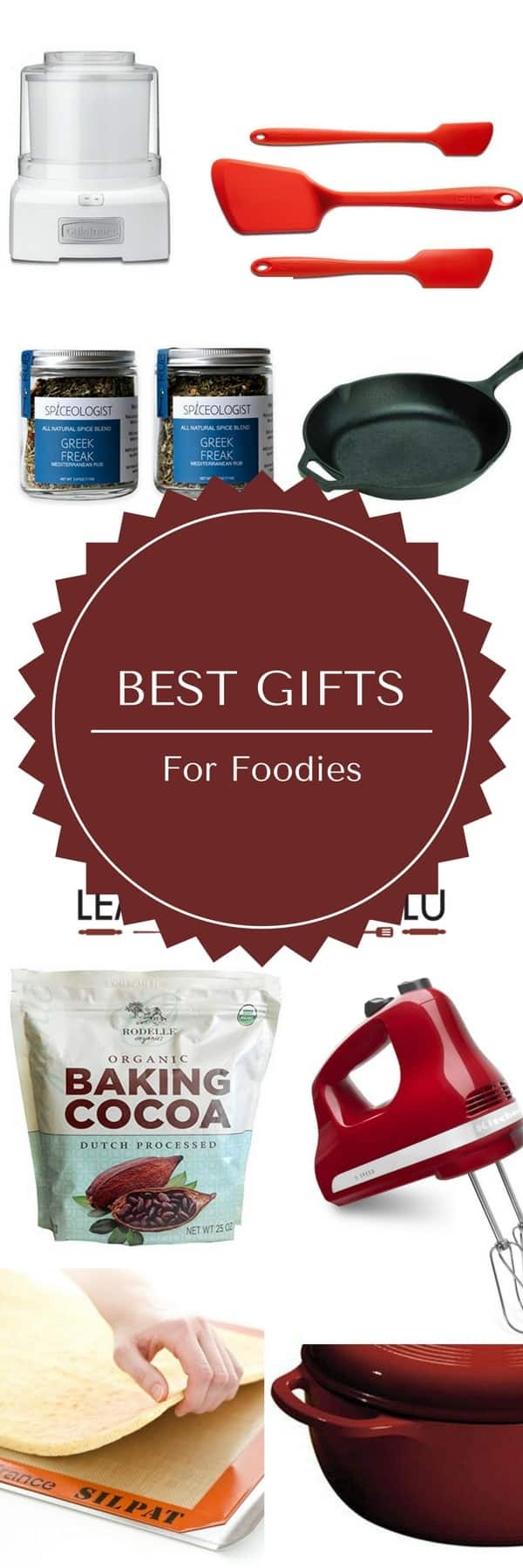 Know someone who loves food? Here my list of the best gifts for foodies!