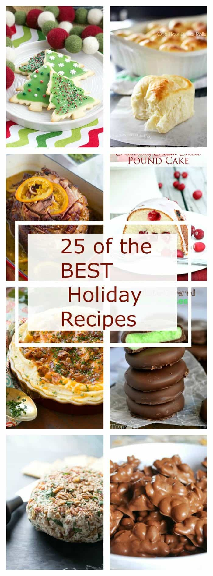 Worried about how to entertain this holiday season!  Stop stressing!  We have the BEST holiday recipes right here at your fingertips!