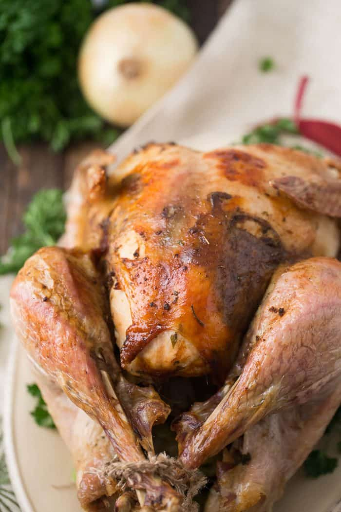 Want a flavorful turkey? Then you have to try this cajun turkey!