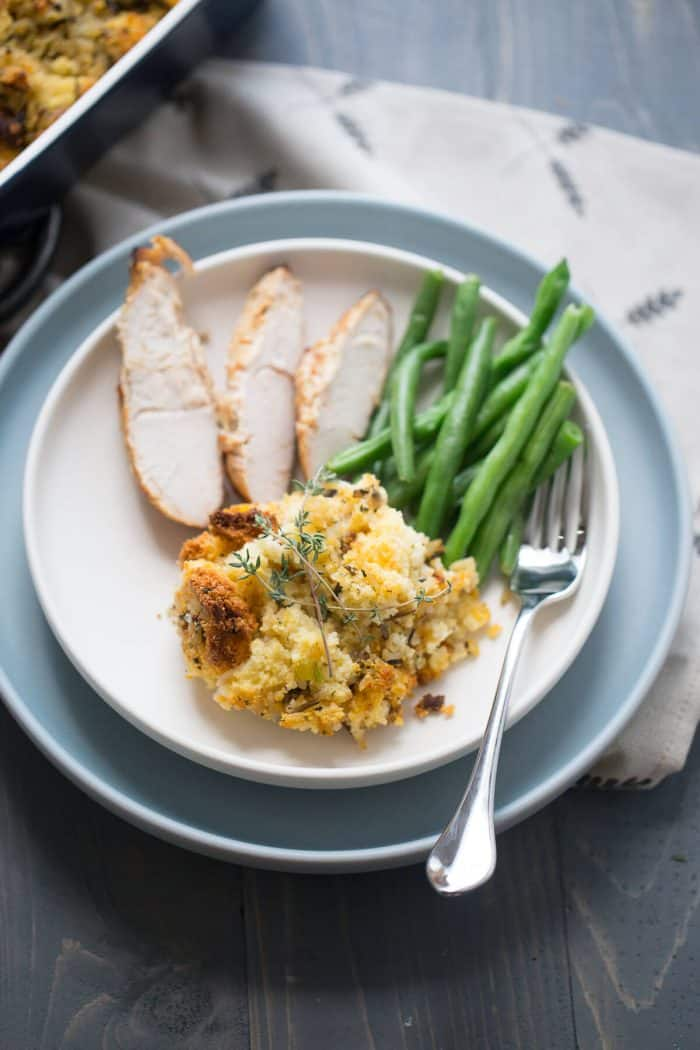 There is always room for stuffing! This cornbread stuffing recipe is a must make!