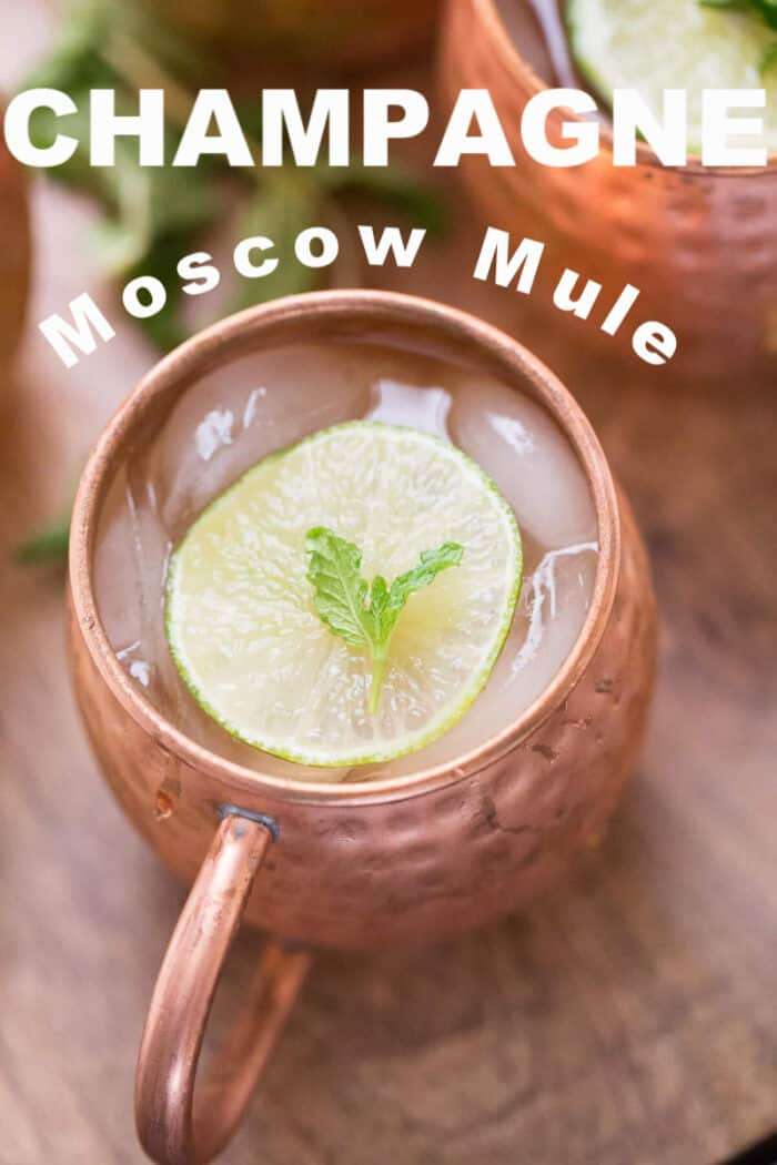 Moscow mule and Lime