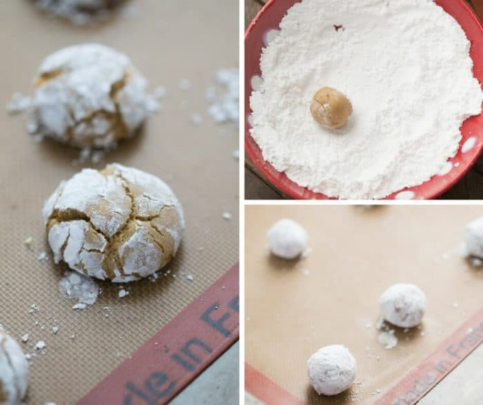 Crinkle cookies are so easy to make. This caramel crinkle recipe is a nice change to the traditional cookie!