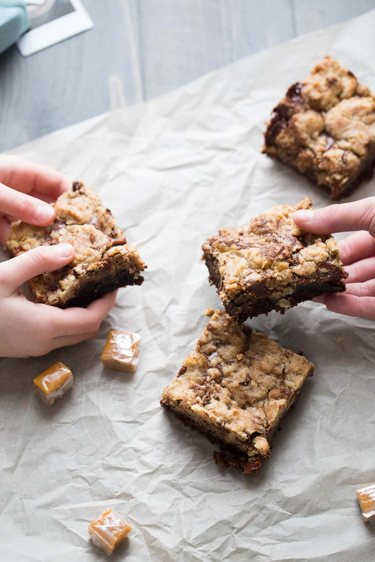 Brookie bars with a chocolaty filling is going to be your new favorite brownie!