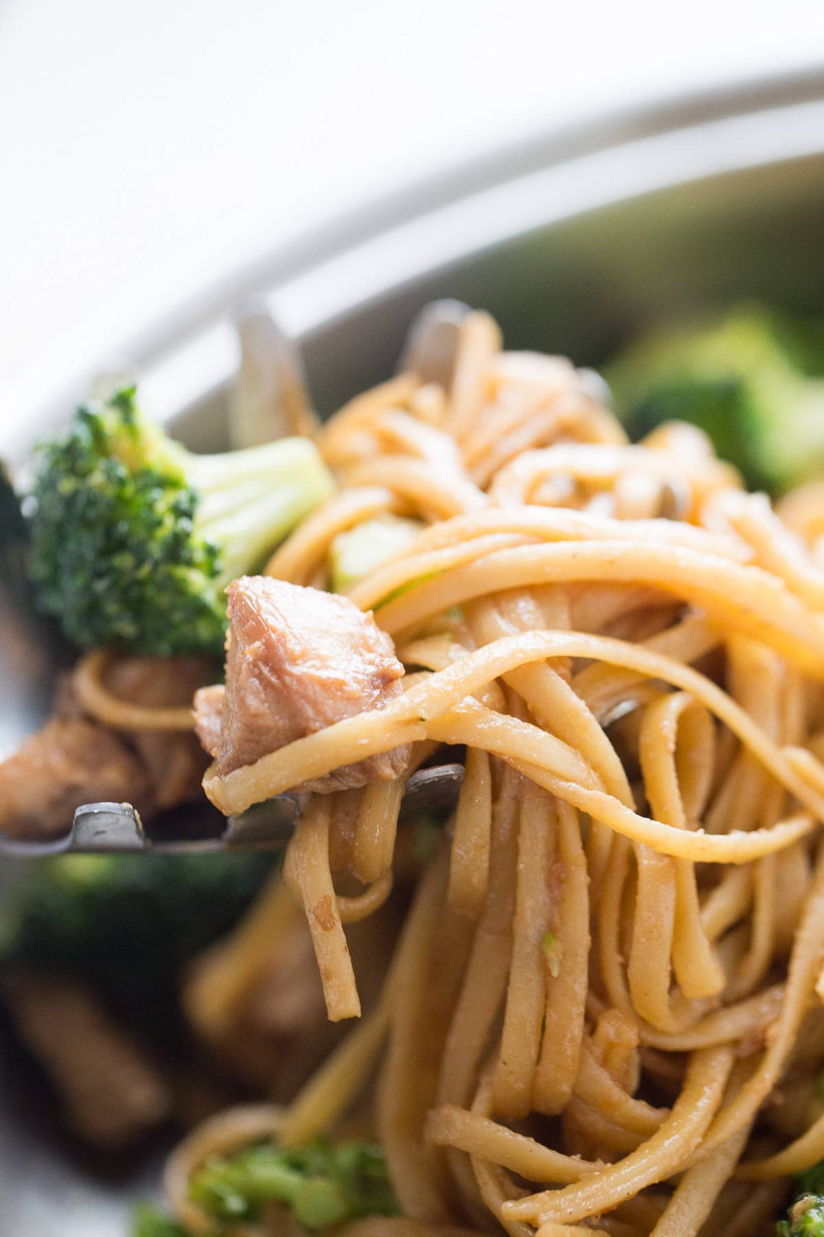 This chicken and broccoli stir fry is better than take out! You control the ingredients!