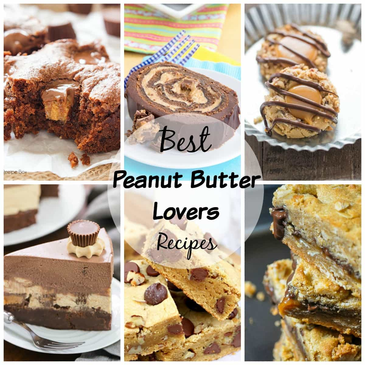 Peanut butter recipe lovers rejoice! This round up is just for you!