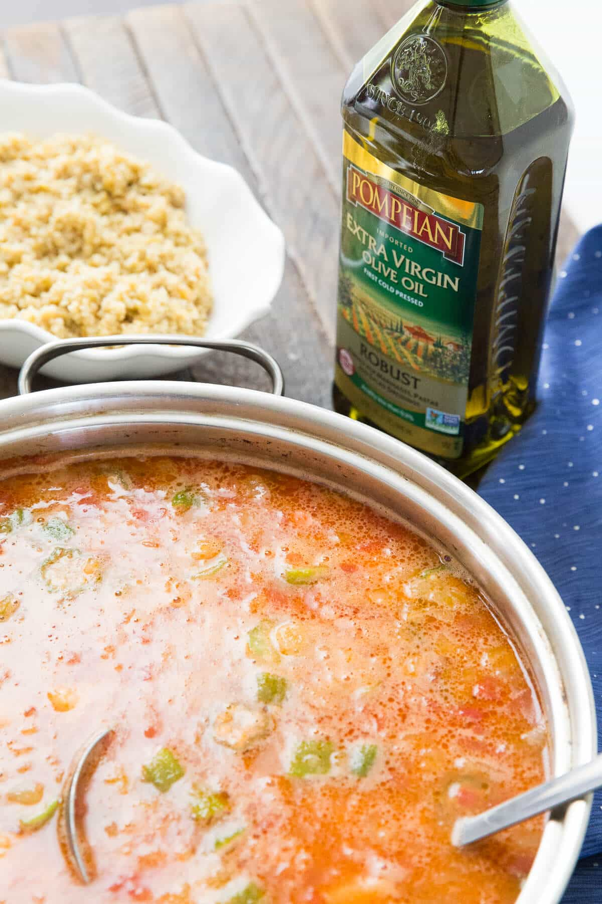 This easy gumbo recipe is going to go quickly! Everyone will love this filling meal!