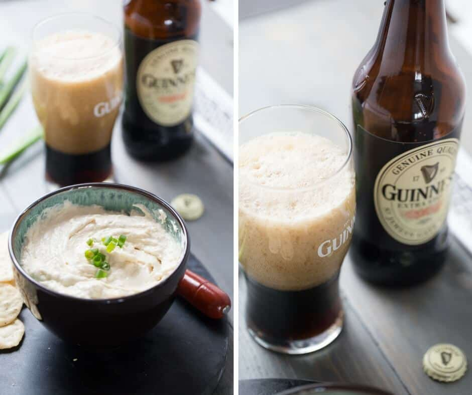 Guinness cheese dip that is perfect for any gathering. This is the most delicious appetizer!