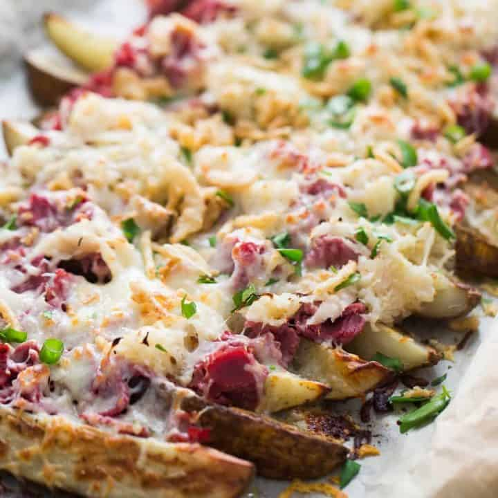 Reuben Loaded Potatoes Recipe