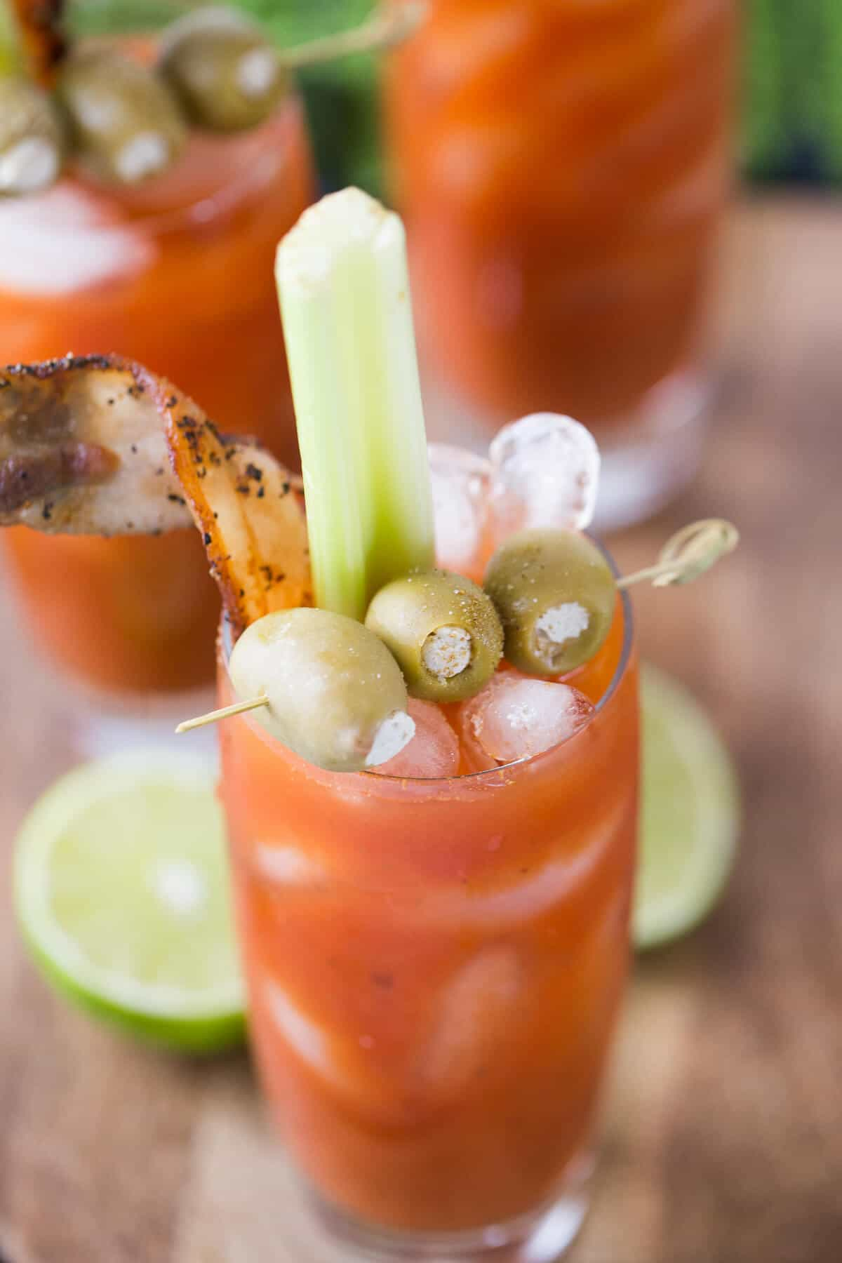Who's a fan of Bloody Mary's? This cocktail is for those who like a little spice! lemonsforlulu.com