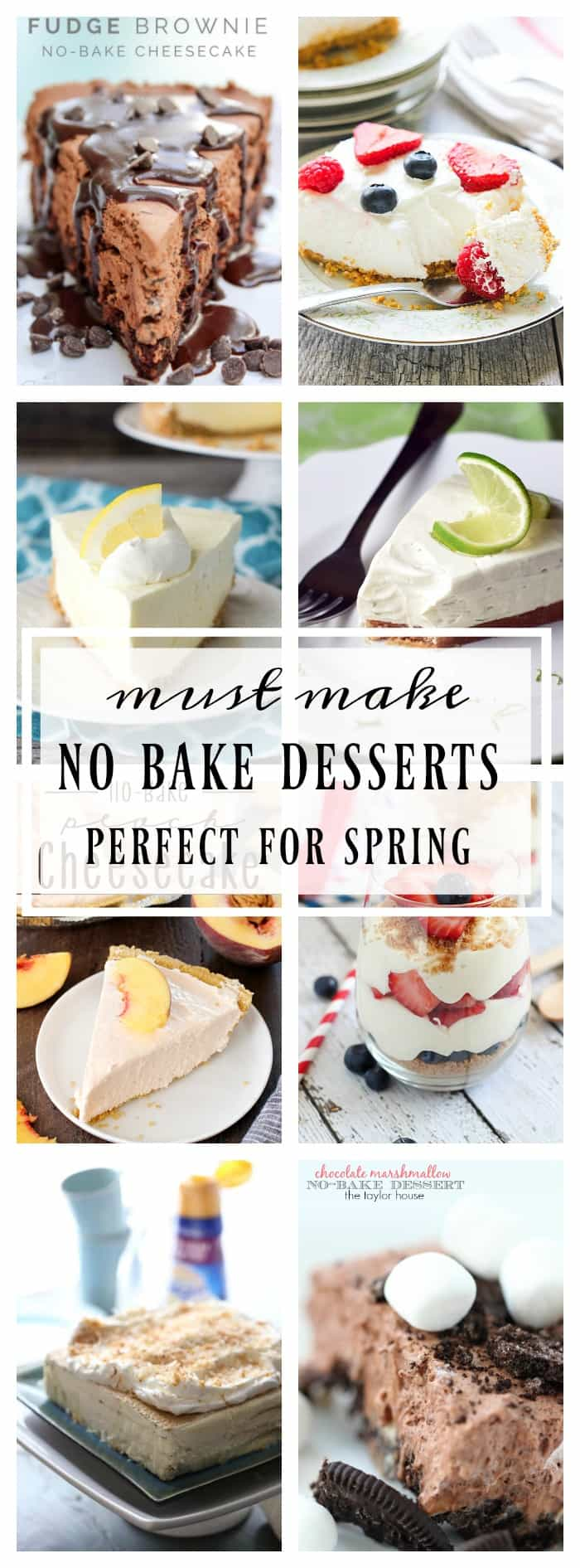 Warm weather is practically upon us, it's times to stock up on no bake recipes!