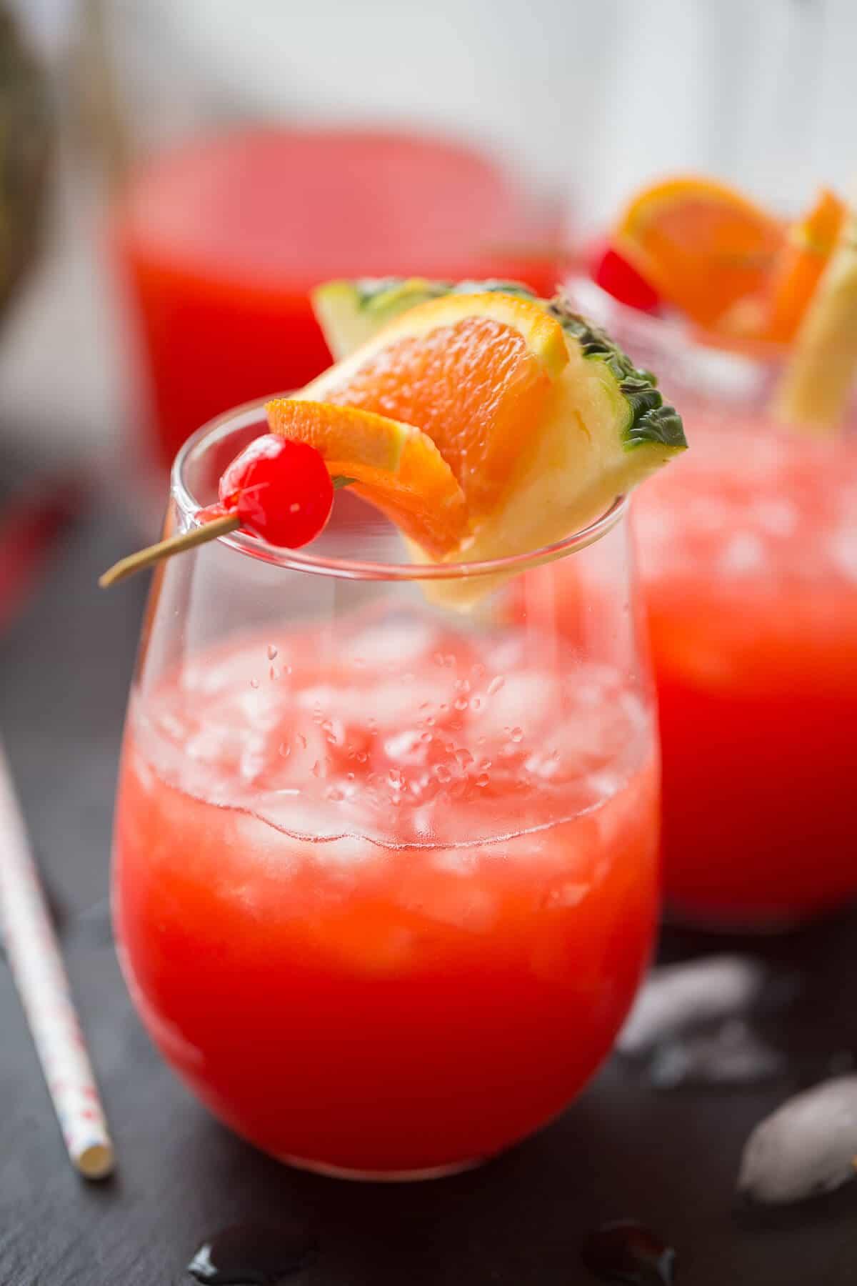Rum Punch {Lemons for Lulu}