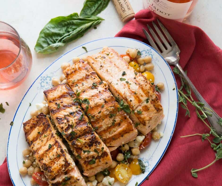 If you love salmon then this easy grilled salmon recipe is for you! The flavor is to die for!