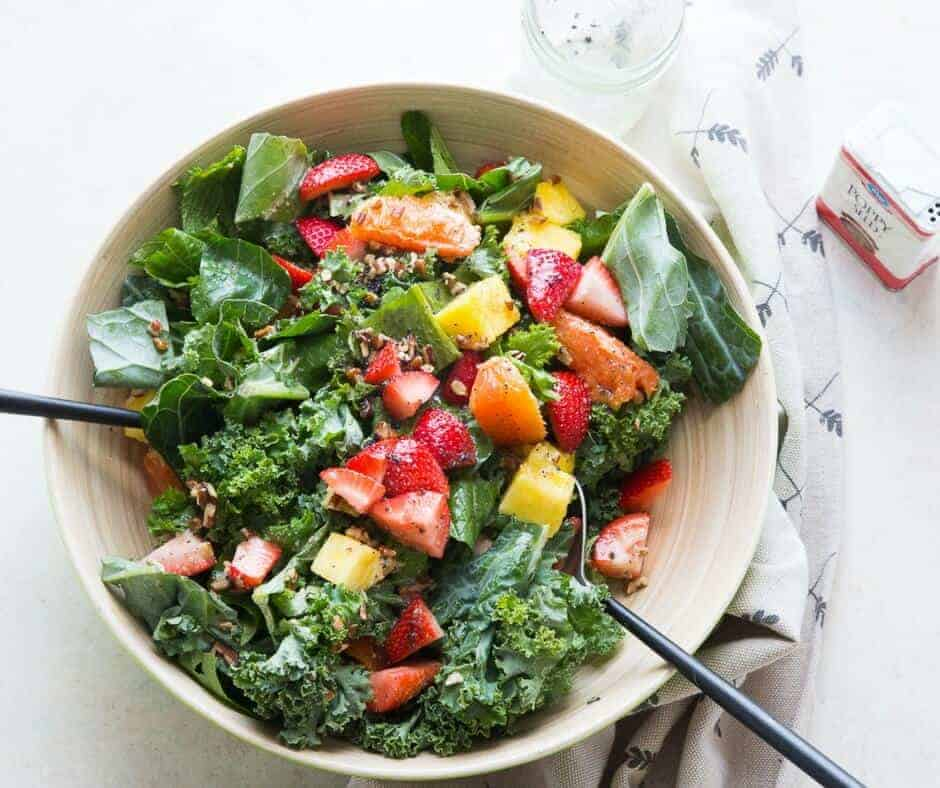 Fresh salads are irresistible! This citrus salad is bursting with freshness between the greens and the fruit. Don't forget the dressing!