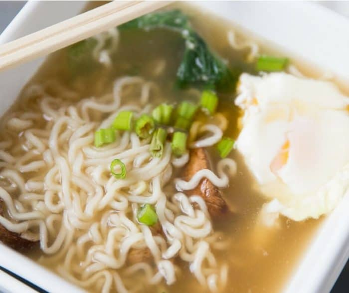 This Ramen Soup could replace chicken noodle soup as the most comforting soup in the world! The broth is full bodied, the ingredients simple and the process fast and easy!