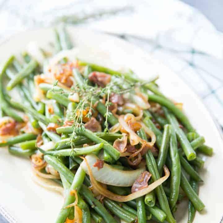 Balsamic Green Beans | Lemons for Lulu