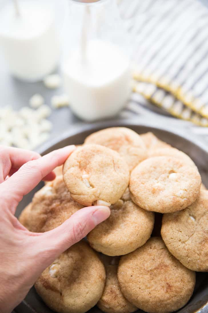 How to make snickerdoodle cookies