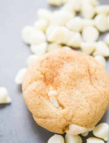 Chewy snickerdoodle recipe