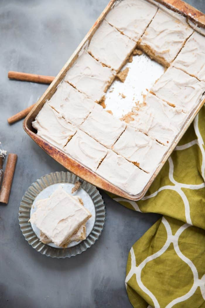 Browned butter blondies recipe